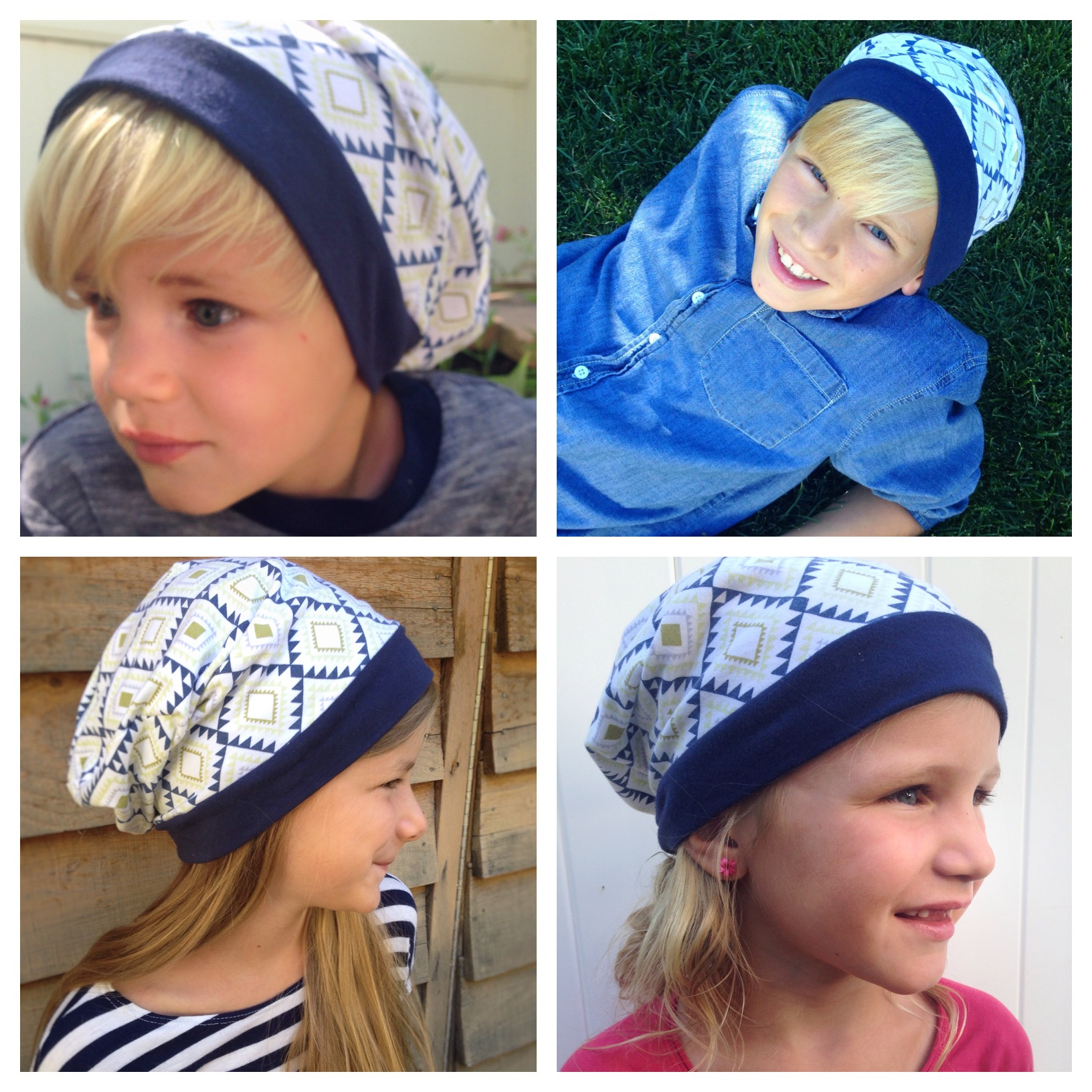 I whipped up the free Slouchy Beanie Hat from Heidi and Finn and all the  kids were fighting to get their hands on it. I think the boys will end up  sharing ... fbe4dde9fc7