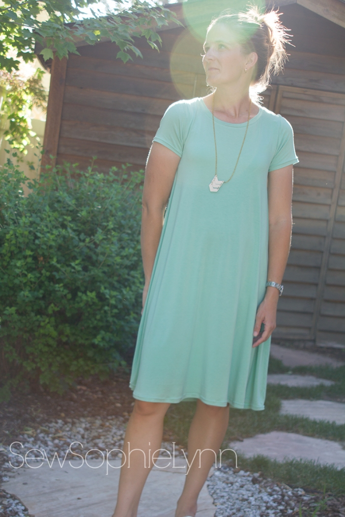 Swing Dress Hack Sewsophielynn