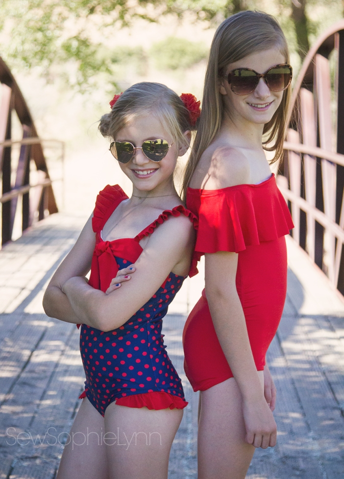 1efc860cd7d We were so lucky to get to pick from some amazing Sly Fox Fabrics for this  post. I'm always up for sewing swimsuits and these swim knits were the  perfect ...